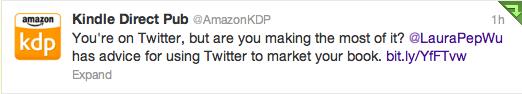 KDP retweet