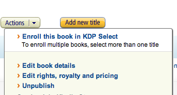 Kindle keywords